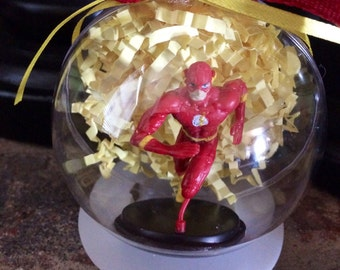 The Flash Globe Ornament