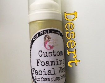 Desert Foaming Facial Wash ! Formulated for dry prone skin types! Listing is for one concentrated wash.