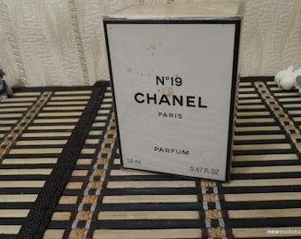 Chanel N.19 Chanel PERFUME 14ml Vintage 1994 Sealed