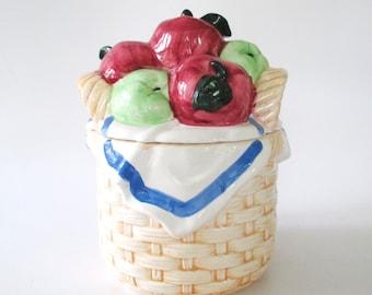 Boston Warehouse  Fruit Cookie Jar