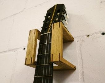 wood guitar mount etsy