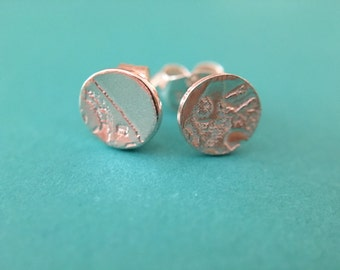 Mismatched Sterling Silver Mini Studs
