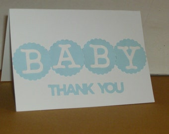 Thank You Baby Cards, Thank You Cards. Baby Cards, Baby Announcement, Baby Shower, Newborn, Baby, Baby Congrats