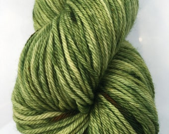 WORSTED WEIGHT superwash merino wool yarn-forest