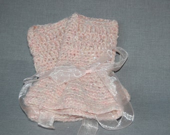 Sumptuously Soft Fingerless Gloves