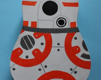 BB-8 Hand-Painted Ukulele