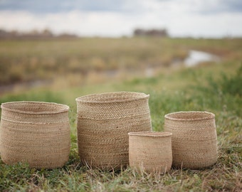 Woven baskets four sizes