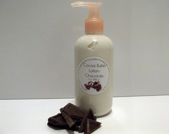 Chocolate Scented Cocoa Butter Lotion