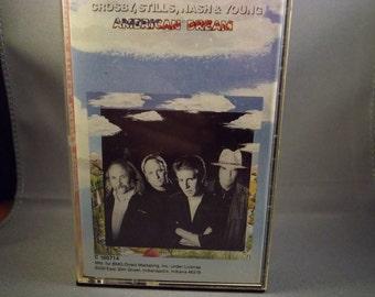 "Crosby, Stills, Nash & Young ""American Dream"" Music Cassette"