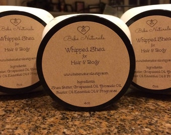 Whipped Shea for Hair & Body