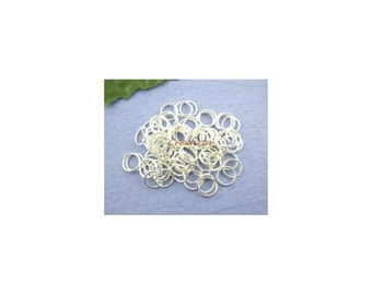 600 silver 7x0.7mm junction rings