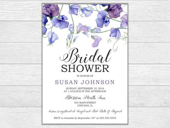 Bridal shower bridal shower invite bridal shower invitation wedding invitation printable invite digital download wedding shower floral