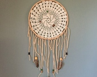 Earthy Hints of Green Dream Catcher