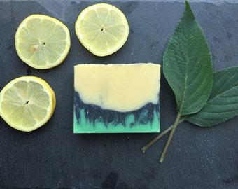 Lemon, Sage & Ginger Scented Cold Process Soap