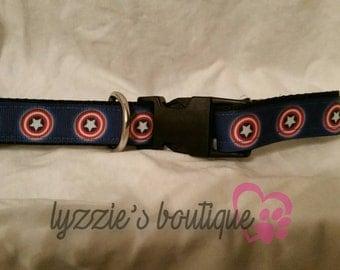 Captain America Medium Collar