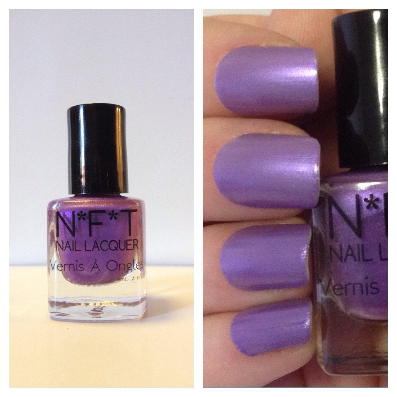 Passion Nail Polish: N32 Purple Passion Purple Nail Polish / Indie Lacquer