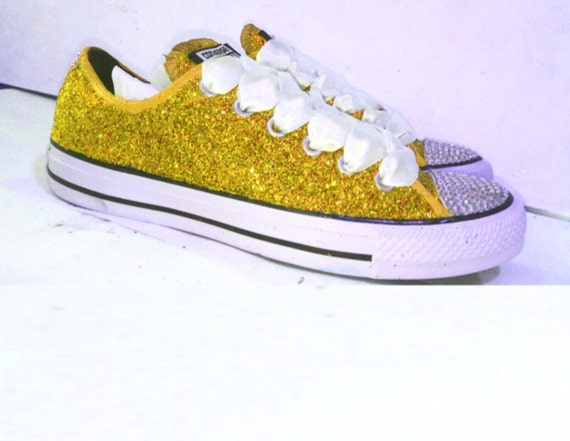 s sparkly gold glitter swarovski crystals by