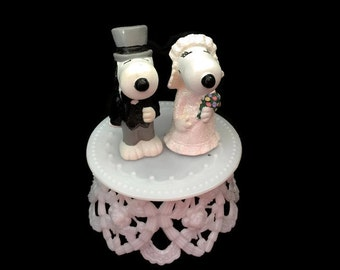 Snoopy Belle Wedding Cake Topper