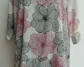 Marty Flower Tunic