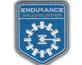 Sci Fi Movie Aliens Interstellar Endurance Nolan Cool Costume Cosplay patch