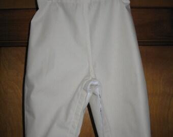 Cream Twill Pants
