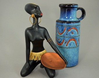 Vintage vase / Scheurich / 401 20   West Germany   WGP   60s