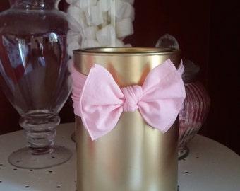 Ballerina Pink Knot headband bow