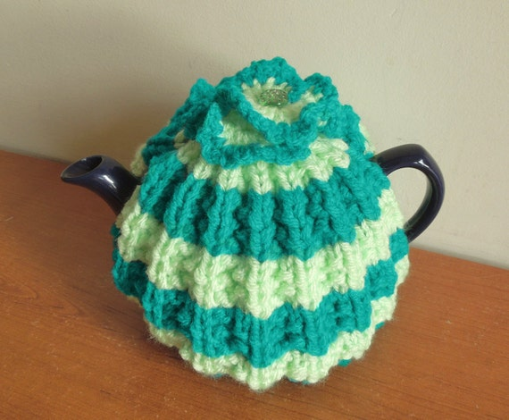 Traditional Tea Cosy Knitting Pattern : Small knitted tea cosy traditional tea cosy for small 2 cup