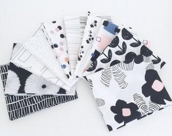 Fat Quarter Bundle Lagom by AGF Studio- 10 Fabrics