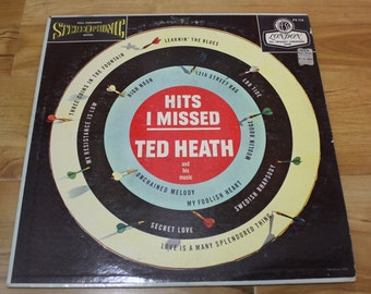 "RARE Ted Heath And His Music ""Hits I Missed"" London Records 1958"