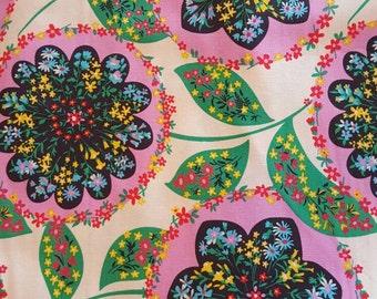 "Amy Butler, 100% cotton fabric. Lark, ""Charisma"" in Blush."