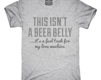 Pickup Lines This Isn't A Beer Belly T-Shirt, Hoodie, Tank Top, Sleeveless