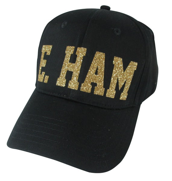 hat with personalized name in glitter bling s