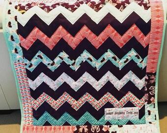 Keepsake Bridesmaid Quilt ~ Baby Quilt ~ Crib Quilt ~ Throw Quilt