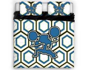 Motocross Comforter, Motocross Bed, Motocross Bedding, Sports Comforter, Sports Bed, Twin, Full, Queen, King, Cotton