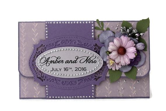 Personalized Gift Card Holder - Custom Gift Card Holder - Wedding ...