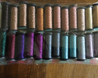 KREINIK metallic thread # 24 Pack rocchette