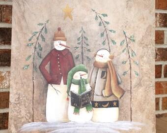 We Three Snowmen