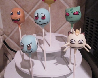Pokemon Cake Pops (First Generation)