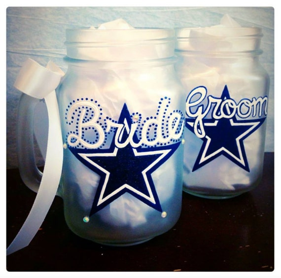 Unique Wedding Gifts Dallas : ... Wedding Gift, Bridal Shower Gifts, Dallas Cowboy Gift, NFL Team Gifts