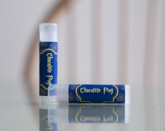 All Natural Chocolate Frog Harry Potter Lip Balm