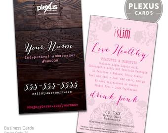 Plexus Chic Business Card Design [DIGITAL FILES]