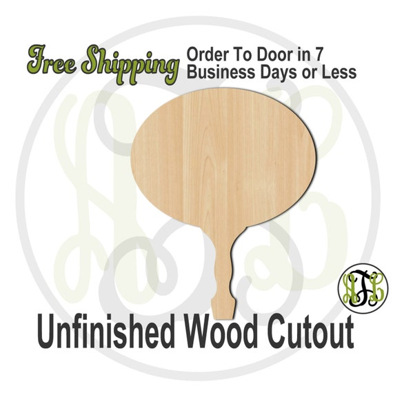 Oval Paddle Sign- 3400004- Cutout, unfinished, wood cutout, wood craft, laser cut shape, wood cut out, DIY, Free Ship, Wedding, Bleecher