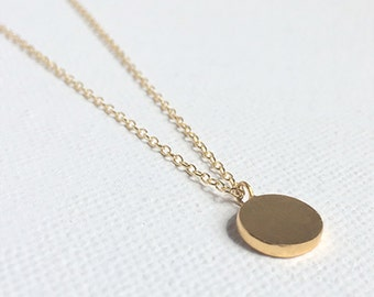 Dainty Circle Necklace
