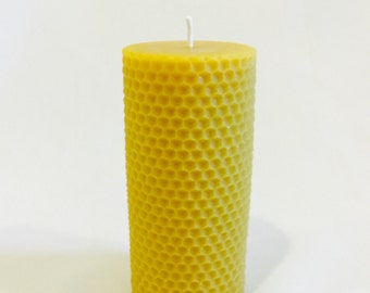 Honeycomb Beeswax Candle
