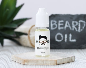 Mo Bro's Unscented Beard Conditioning Oil - 10ml - Made in the United Kingdom