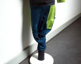 Sweatpants from blue GOTS certified organic Sweatjersey