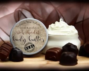 Organic Rich Chocolate Body Butter | Chocolate Lotion  | Body Butter | Vegan Body Butter | Organic Body Butter | Organic Lotion | Lotion