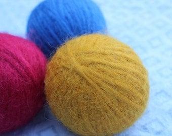 Wool Balls Set of 3