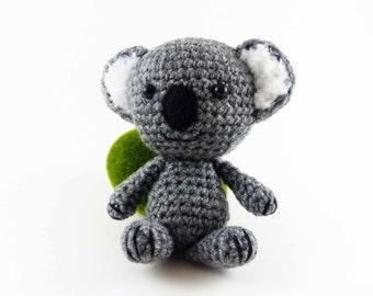 Amigurumi Koala, Handmade Crochet Koala, Koala